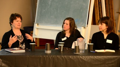 Rebecca Stroud Stasel, Nelly Matorina, Ariane Legault 1